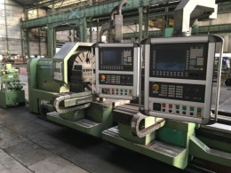 CNC Heavy Duty Lathe GEMINIS Model:1200-3G
