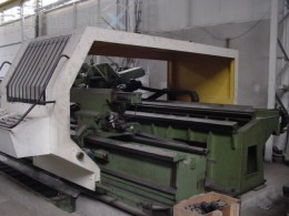 Heavy Duty Lathe CNC POTISJE Model: PA 45/6000 Ø 910 mm, L: 6000 mm